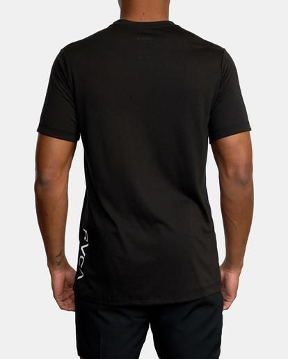 3 VA Sport | RVCA 2X Workout Shirt Black V4041RRX RVCA