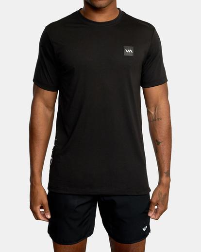 2 VA Sport | RVCA 2X Workout Shirt Black V4041RRX RVCA