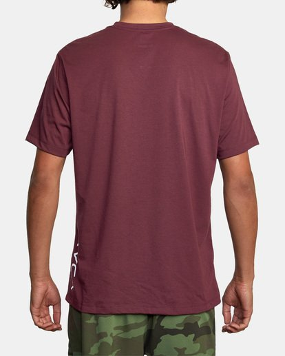 3 RVCA 2X Workout Shirt Green V4041RRX RVCA