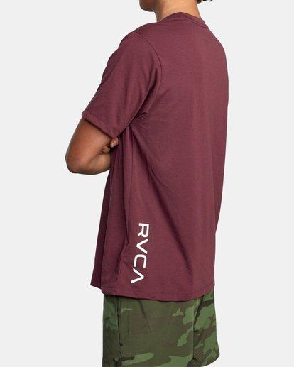 4 RVCA 2X Workout Shirt Green V4041RRX RVCA