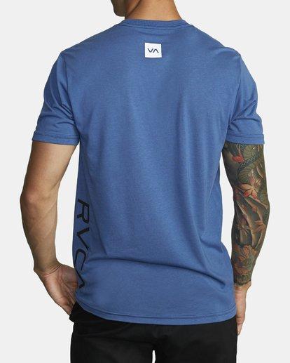 1 RVCA 2X Workout Shirt Blue V4041RRX RVCA