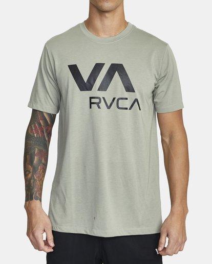 0 VA RVCA SHORT SLEEVE TEE Multicolor V4043RVR RVCA