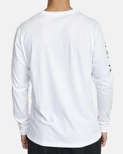 1 VA SPORT LONG SLEEVE TEE White V4533RVA RVCA