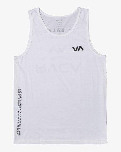 0 BALANCE ARC TANK TOP White V4813RBA RVCA