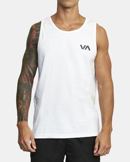 1 BALANCE ARC TANK TOP White V4813RBA RVCA