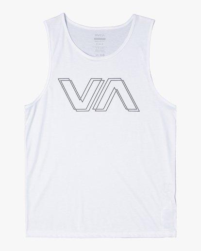 0 VA OFFSET TANK TOP White V4821ROF RVCA