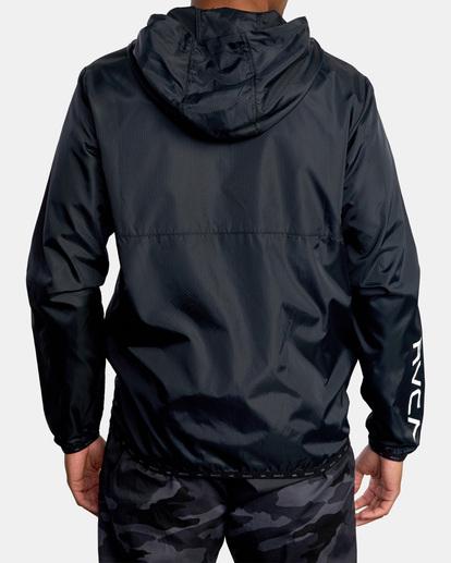 1 Hexstop IV Jacket Black V701TRHP RVCA