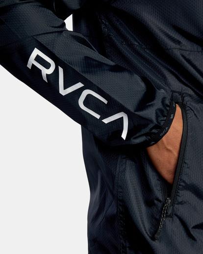 7 Hexstop IV Jacket Black V701TRHP RVCA