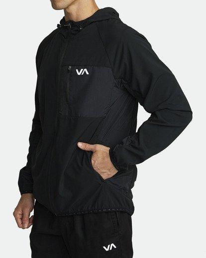 3 YOGGER TRACK JACKET Black V7023RYJ RVCA