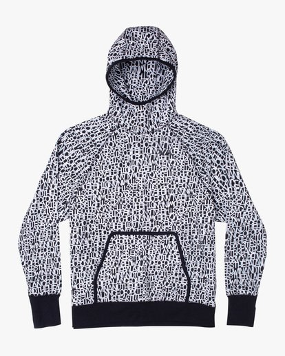 0 BEDWIN PULLOVER HOODIE Black V7053RBH RVCA