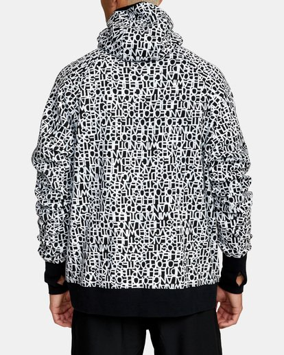 2 BEDWIN PULLOVER HOODIE Black V7053RBH RVCA