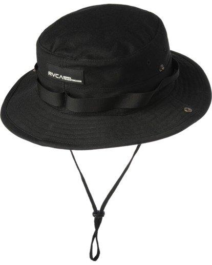 0 RVCA BEDWIN BOONIE HAT Black VAHW3RBH RVCA