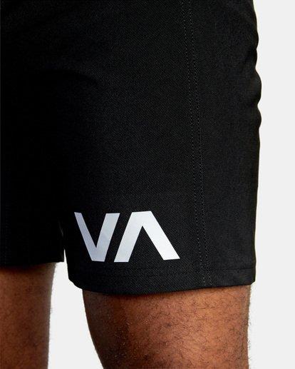 2 VA Sport Grappler Short Black VG208GRP RVCA