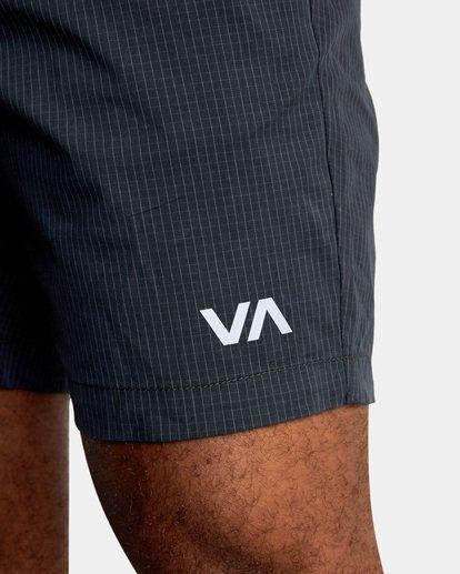 """2 Spectrum Workout Shorts 18"""" Black VL202SPE RVCA"""