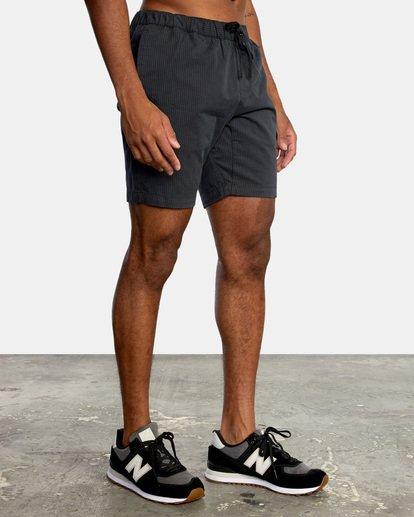 """5 Spectrum Workout Shorts 18"""" Black VL202SPE RVCA"""