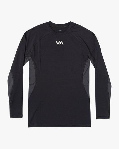 0 COMPRESSION LONG SLEEVE TOP Black VR011RCL RVCA