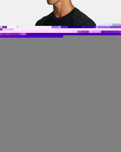 3 COMPRESSION LONG SLEEVE TOP Black VR011RCL RVCA