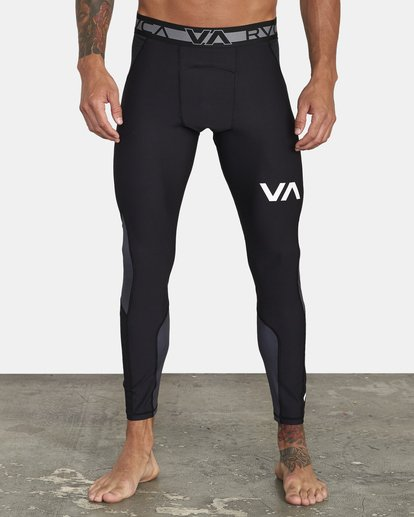 2 COMPRESSION PANT Black VR011RCP RVCA