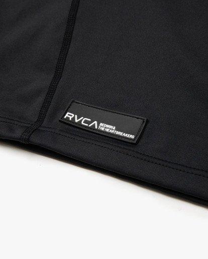 7 BEDWIN LONG SLEEVE RASHGUARD Black VR013RRG RVCA