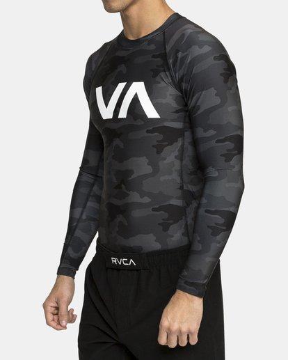 3 VA SPORT RASHGUARD  VR51PRSR RVCA