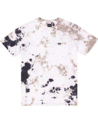 0 Manic Tie Dye - T-shirt pour Homme Violet W1KTRFRVP1 RVCA
