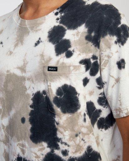 3 Manic Tie Dye - T-shirt pour Homme Violet W1KTRFRVP1 RVCA