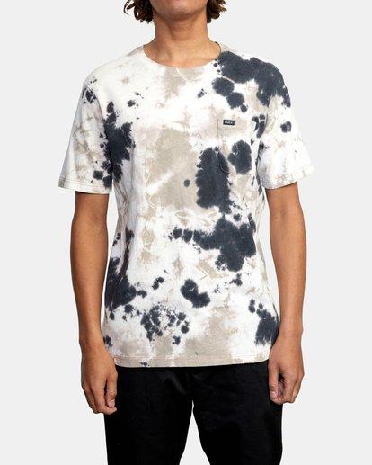 1 Manic Tie Dye - T-shirt pour Homme Violet W1KTRFRVP1 RVCA