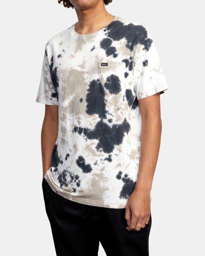 5 Manic Tie Dye - T-shirt pour Homme Violet W1KTRFRVP1 RVCA