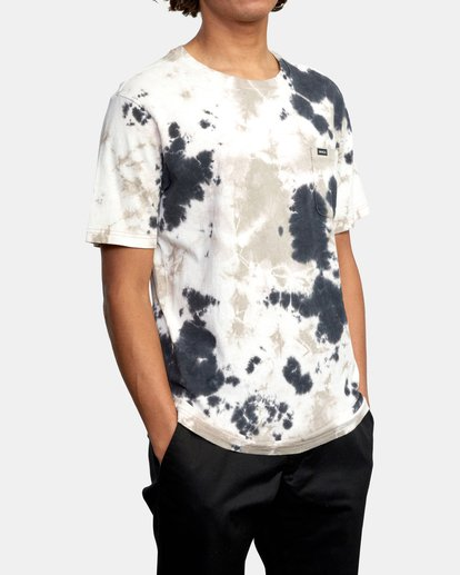 6 Manic Tie Dye - T-shirt pour Homme Violet W1KTRFRVP1 RVCA
