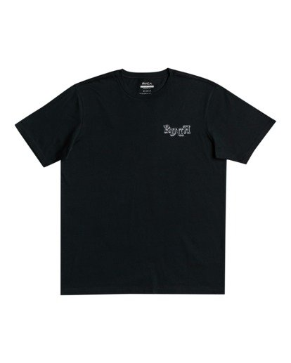 1 Benjamin Jeanjean Skeleton Walk - T-shirt pour Homme Noir W1SSRPRVP1 RVCA