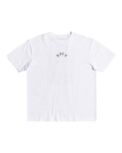 1 Benjamin Jeanjean The Monkey - T-shirt pour Homme Blanc W1SSRQRVP1 RVCA