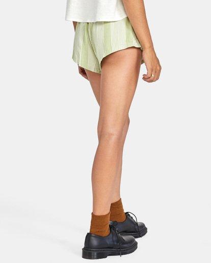 5 Camron Elastic Short Green W2011RCA RVCA