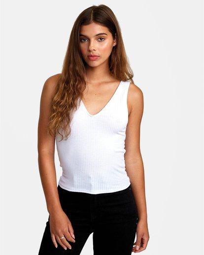 0 Calico - Débardeur pour Femme Blanc W3TPIBRVP1 RVCA