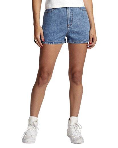0 Azalea - Short taille haute pour Femme Bleu W3WKRBRVP1 RVCA