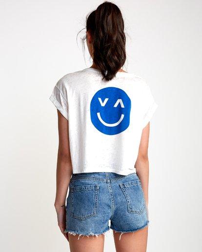 1 Happy Sad Cropped T-Shirt  W445VRHA RVCA
