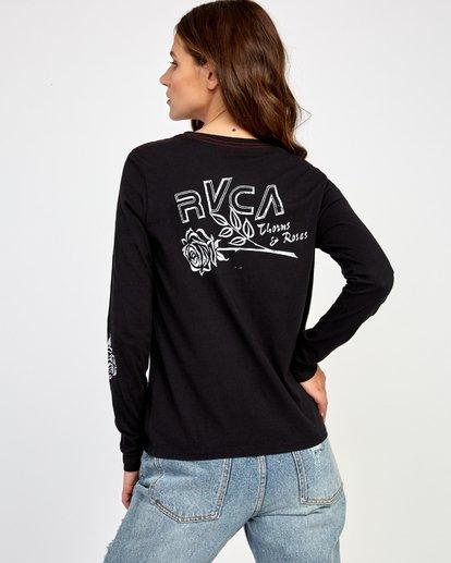 0 Thorns Long Sleeve T-Shirt  W468VRTH RVCA