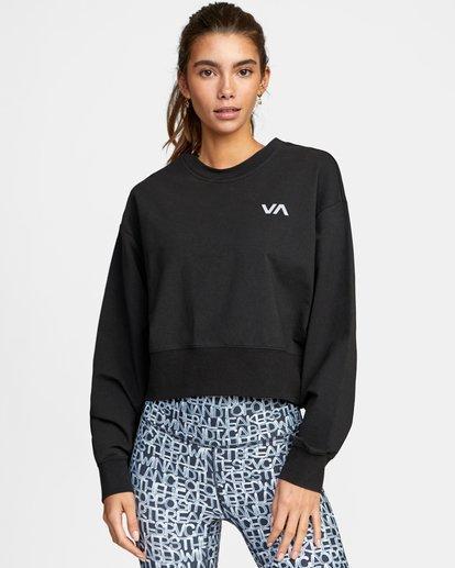 0 VA Sport Fashion - Sweat pour Femme Noir W4CRWBRVP1 RVCA