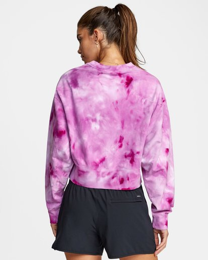 1 VA Sport Fashion - Sweat pour Femme Vert W4CRWBRVP1 RVCA