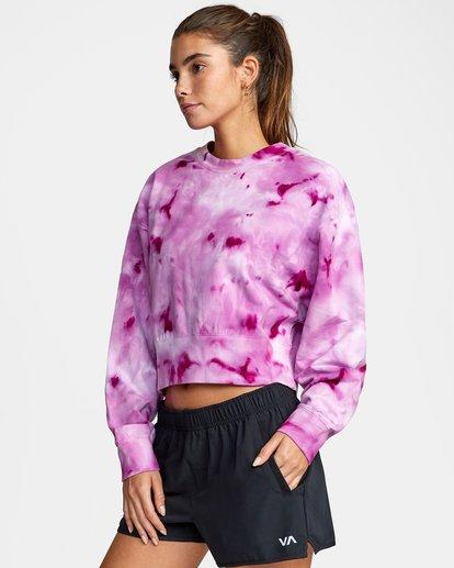 3 VA Sport Fashion - Sweat pour Femme Vert W4CRWBRVP1 RVCA