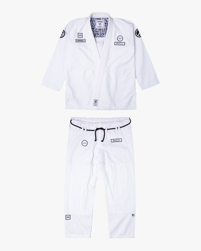 0 RVCA X Bedwin X Shoyoroll - Gi de jiu-jitsu pour Homme Blanc W4ESRARVP1 RVCA