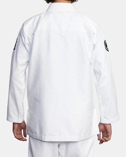 2 RVCA X Bedwin X Shoyoroll - Gi de jiu-jitsu pour Homme Blanc W4ESRARVP1 RVCA