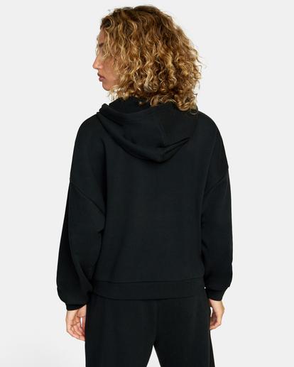 1 VA Essential - Sweat à capuche pour Femme Noir W4HOWCRVP1 RVCA