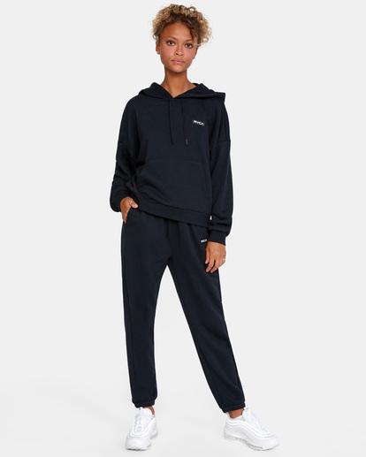 3 VA Essential - Sweat à capuche pour Femme Noir W4HOWCRVP1 RVCA