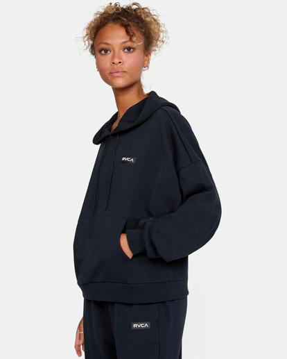 4 VA Essential - Sweat à capuche pour Femme Noir W4HOWCRVP1 RVCA