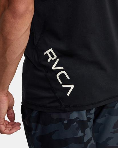 6 Sport Vent - Haut de sport pour Homme Noir W4KTMBRVP1 RVCA