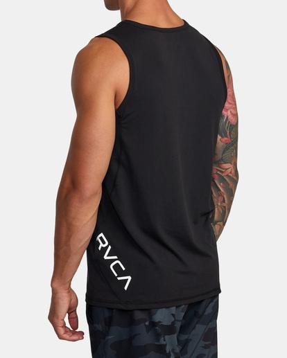 6 Sport Vent - Haut de sport pour Homme Noir W4KTMCRVP1 RVCA
