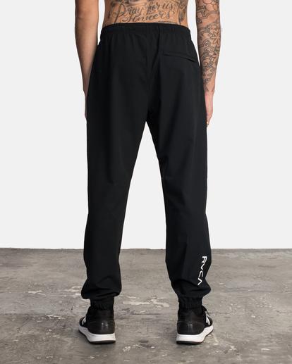 1 VA Sport Yogger II - Pantalón de chándal para Hombre Negro W4PTMFRVP1 RVCA