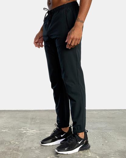 5 VA Sport Yogger II - Pantalón de chándal para Hombre Negro W4PTMFRVP1 RVCA