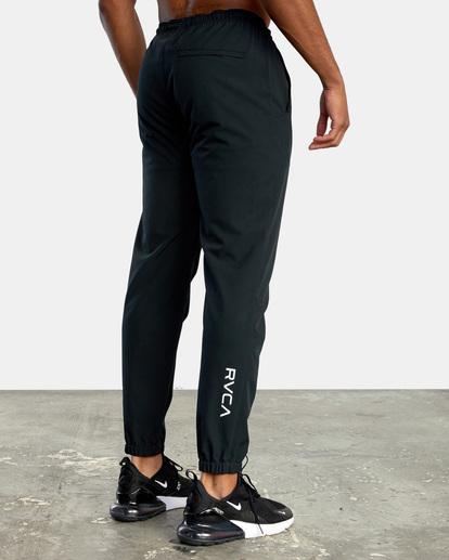 6 VA Sport Yogger II - Pantalón de chándal para Hombre Negro W4PTMFRVP1 RVCA