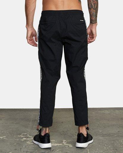 1 Bedwin IPFU - Pantalon de jogging pour Homme Noir W4PTMGRVP1 RVCA